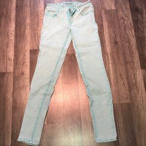 Teal Skinny Jeans
